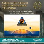 Saber Guild Virtual Kids Lightsaber Training